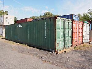 40 Ft As Is Storage Container With Minor Damages Norfolk Va Virgina Containers