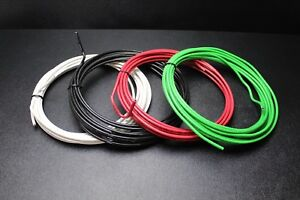 8 Gauge Thhn Wire Stranded Pick 3 Colors 25 Ft Each Thwn 600v Copper Cable Awg