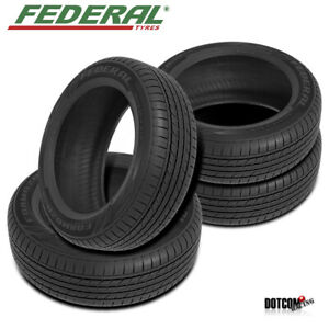 4 X New Federal Formoza Gio 165 50r15 All season Traction Tire