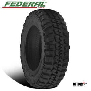 1 X New Federal Couragia M T 37x12 5r20 126q Maximum Off Road Tire