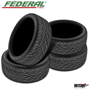 4 X New Federal Ss595 225 50 17 00 All season Tire