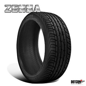1 X New Zenna Argus Uhp 255 30 22 95w All Season Traction Tire