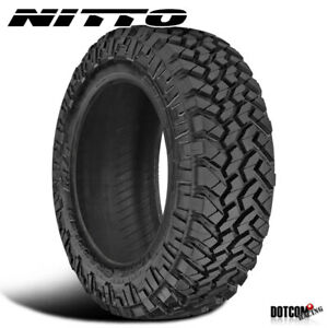 1 X New Nitto Trail Grappler M T 37x12 5x20 126q All Terrain Comfort Tire