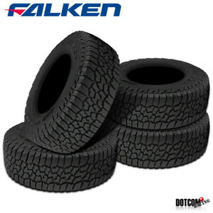 4 X New Falken Wild Peak At At3w 255 65r17 114t All Season All Terrain Tires