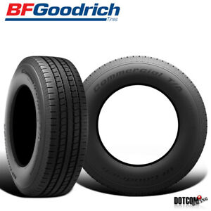 2 X New Bf Goodrich Commercial T A A S 2 265 75r16 123r Highway All Season Tire