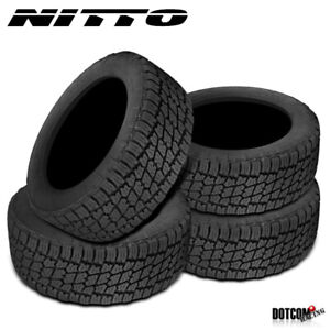 4 X New Nitto Terra Grappler G2 295 70r17 121 118r All Terrain Tire