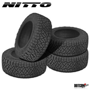 4 X New Nitto Ridge Grappler 295 70r17 121 118q All terrain Tire