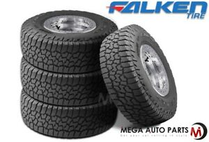 4 Falken Wild Peak A T3w Lt265 75r16 123 120s All Terrain Any Weather Tires