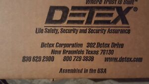 Detex Eax 500 sk3 ks s1 Brand New In Sealed Box