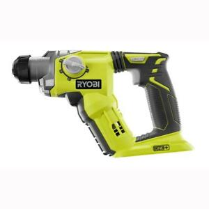New Ryobi 18 volt One 1 2 In Cordless Sds plus Rotary Hammer Drill Tool P222