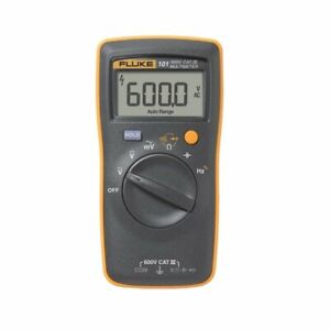Fluke 101 Digital Multi Meter Dmm Electric Tester ac dc pocket size portable