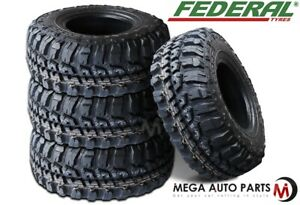 4 New Federal Couragia M t 33x12 50r15 108q 6ply Off Road All Terrain Mud Tire