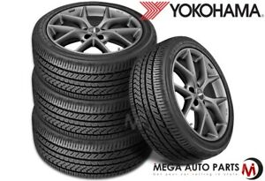 4 Yokohama Advan Sport A s V405 255 40r17 94w All Season Performance Tires
