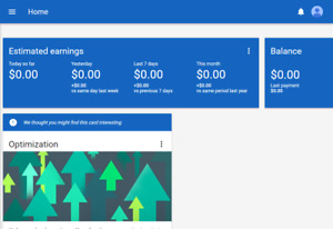 Google Adsense usa Account With Approved Domain