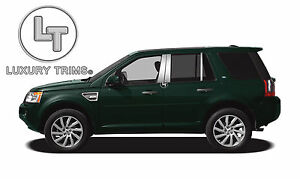 Land Rover Lr2 Stainless Steel Chrome Pillar Posts By Luxury Trims 2008 2015 6pc