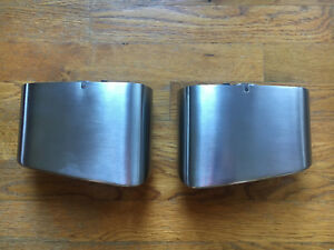 Pair Of Porsche 911 997 1 Oem Base Exhaust Tips