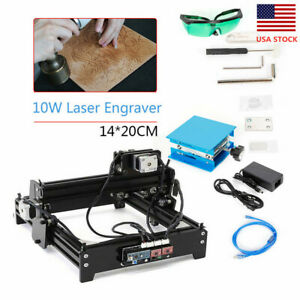 1420 10w Cnc Laser Engraver Usb Desktop Diy Metal Marking Wood Cutting Machine