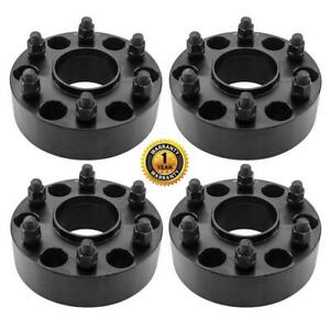 4pc 6x5 5 For Gmc Sierra Chevy Hubcentric 2 14x1 5 6 lug Wheel Spacer Adapters