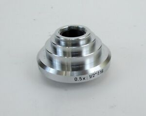 Leica 541511 Hc C mount Dovetail Adapter For Dmr Microscopes 0 5x 1 2