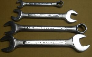 4 Vintage Sk Wayne Wrenches Nos New
