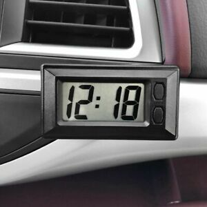 Digital Car Clock Automotive Lcd Vehicle Automobiles Auto Interior Time Display