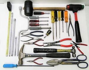 Military Tool Box With U s Military Surplus Assorted Tools