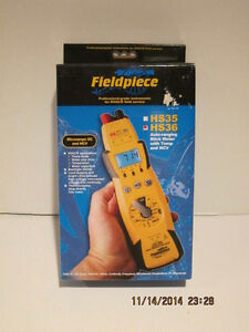 Fieldpiece Hs36 Expandable Autoranging True Rms Stick Multimeter W backlight Nib