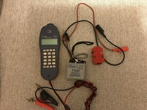 Fluke Ts25d Test Set With Tracer 77hp