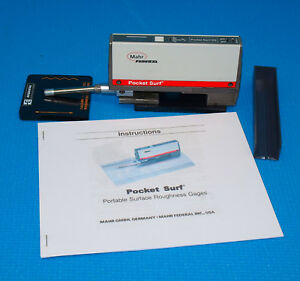 Mahr Federal Pocket Surf Iii With New Probe Surface Roughness Profilometer