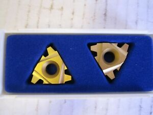 Lot Of 2 Seco Carbide Inserts 27el4acme Cp50 New