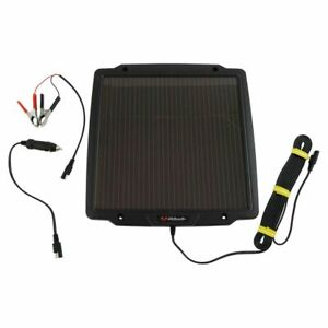 Schumacher Sp 400 Solar Battery Maintainer Trickle Charger 4 2w 12v Brand New