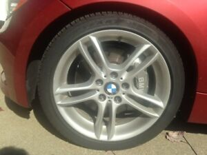 Bmw 135i Staggered Oem Wheel Set 4