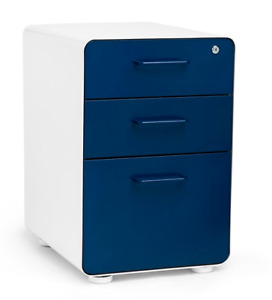 Poppin Stow 3 drawer File Cabinet