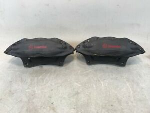 2012 Ford Mustang Front Pair Brembo Brake Calipers Oem