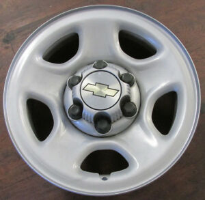 Set Of 4 Chevy Truck Van Suv 16 Factory Original Oem 6x5 5 Bolt Wheel Rims 5128