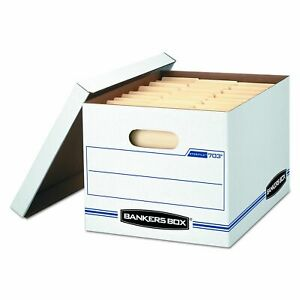 Bankers Box Stor file Storage Boxes Standard Set up Lift off Lid Letter legal