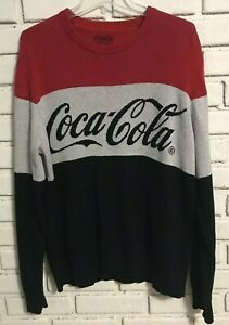Lucky Brand Coca Cola Men's Sweater Size Large