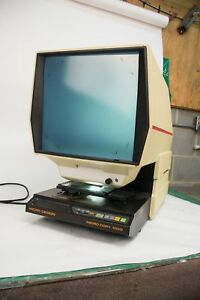 Micro Design Micro Copy 1000 Microfiche Reader Printer