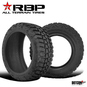 2 X Rbp Repulsor M T 35x12 50r20lt 121q 10ply Performance Off Road Mud Tires