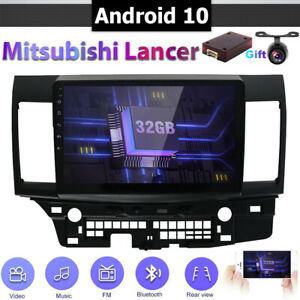 10 1 Ips Android 8 1 Car Gps Autoradio Head Unit For Mitsubishi Lancer 2010 2015