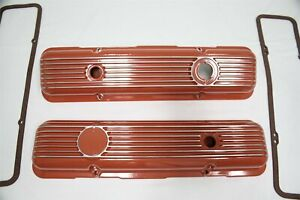 Keen Parts 140036 Aluminum Lt1 Valve Covers 1969 1982 Corvette C3 Will Fit 1959