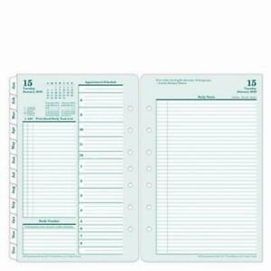 Classic Original Daily Ring bound Planner Jan 2019 Dec Free 2 Day Ship