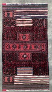 3 6 X 6 6 Gorgeous Vintage Handmade Wool Antique Bakhtiari Persian Rug Runner