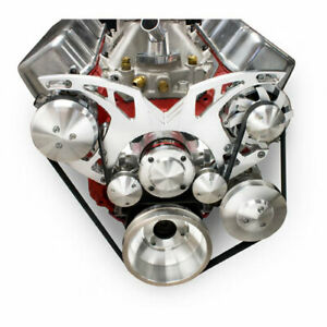 March Performance 23115 07 Revolver Serpentine Drive Kit Big Block Chevy With A
