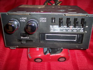 Vintage Mopar Am Fm 8 Track Tape Radio Plymouth Dodge Chrysler Challenger Works