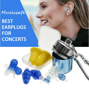 5in1 Noise Cancelling Ear Plugs For Concert Pocket Bike Shooting Hearing Protect