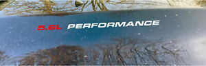 Pair Of 5 6l Performance Hood Decal Decals Nissan Titan Endurance Pro 4s