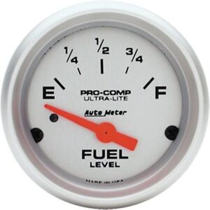 Auto Meter 4314 Ultra lite Fuel Level Gauge 2 1 16 Electrical