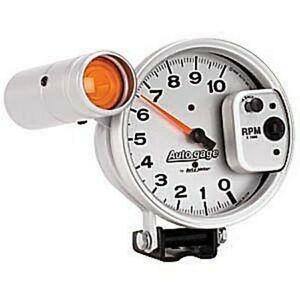 Auto Meter Autogage 233911 Pedestal mount Tach 10 000 Rpm With Shiftlight