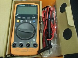 Tenma 72 7740 Modern Digital Multi purpose Meter Advanced Auto Ranging Series